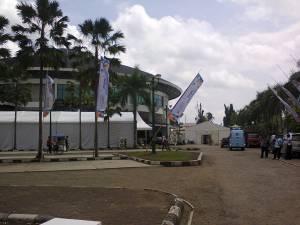 persiapan ict uso expo 2012 di gedung sultan suriansyah banjarmasin