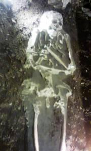 fosil manusia yang sudah berusia 7000 tahun